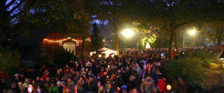 Der märchenhafte Laternenumzug am 29. Oktober